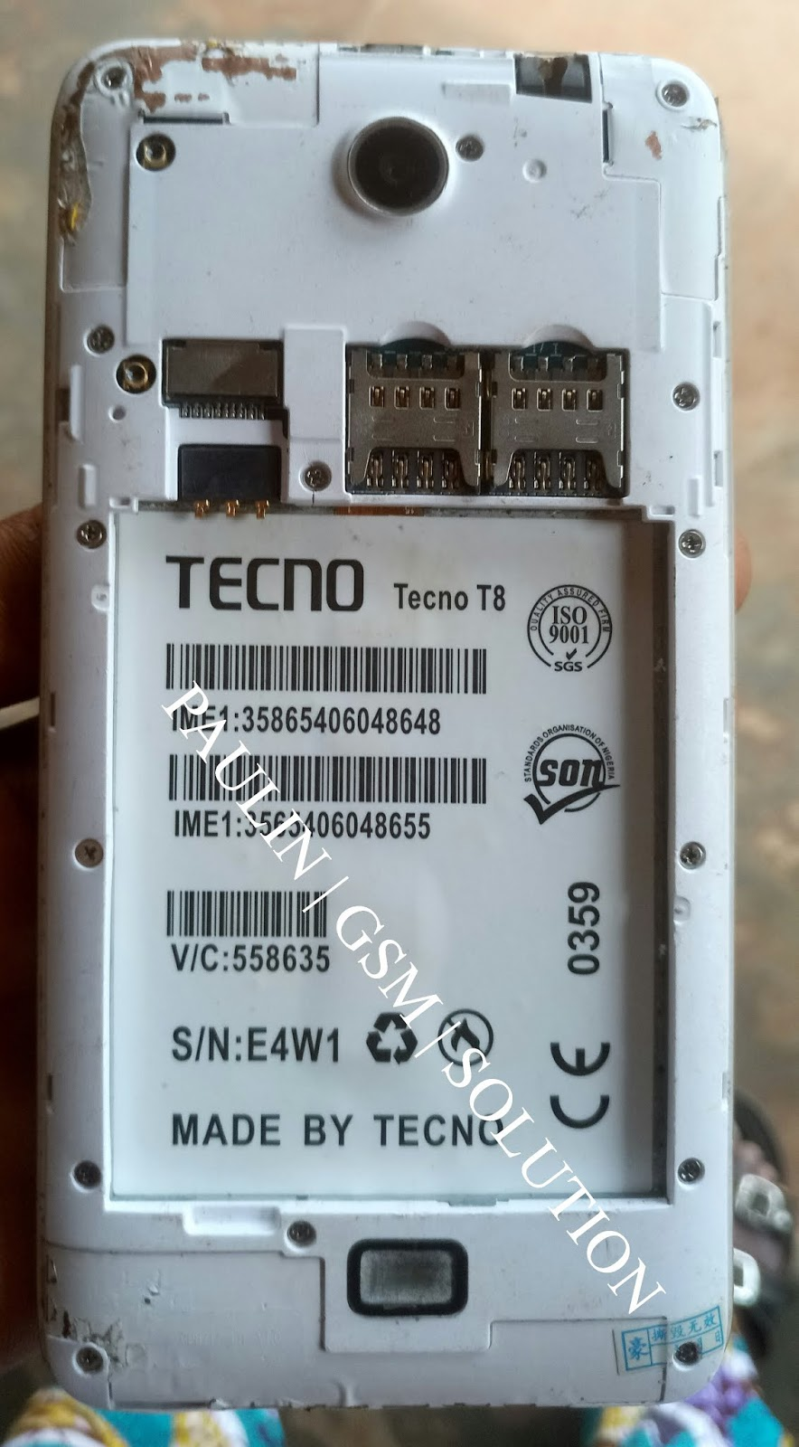 TECNO CAMON T8 MT6735 ANDROID 6 1 STOCK ROM FIRMWARE 10000% TESTED